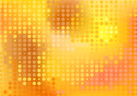 rnabstract: Gold dots disco background
