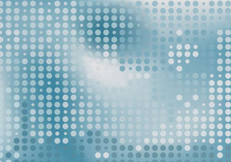 yearrn: Grey dots futuristic background Illustration