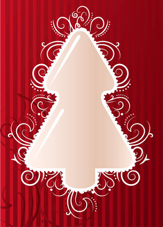 abeto de Navidad  Vectores