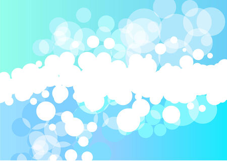 Bright green and light blue  background  Vector