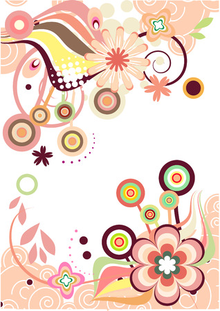 wallpaperrn:   floral pink frame