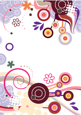 wallpaperrn: Abstract   floral background