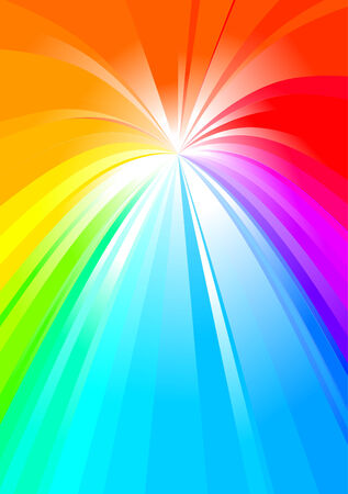 Multicolored abstract rainbow background  Vector