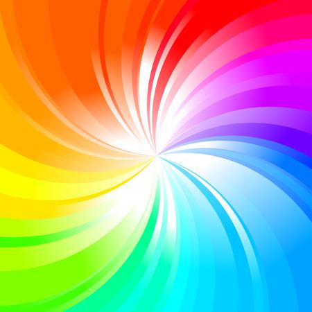 Fondo multicolores de arco iris abstracta