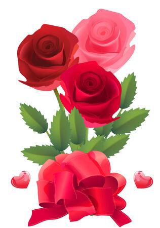 Rose   bunch  Vector
