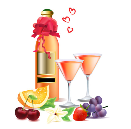 Food and drink for rendezvous Stock Vector - 7710597