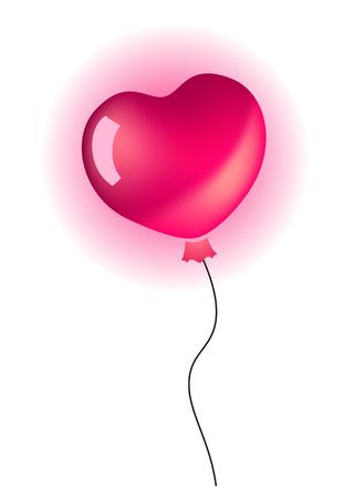 palloncino cuore: Fumetto di cuore