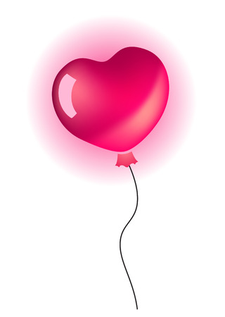 Heart balloon Stock Vector - 7710610