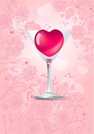 rnart: Heart in glass