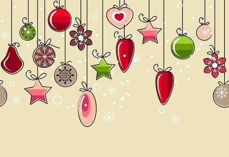 Seamless christmas pattern Stock Vector - 8380152