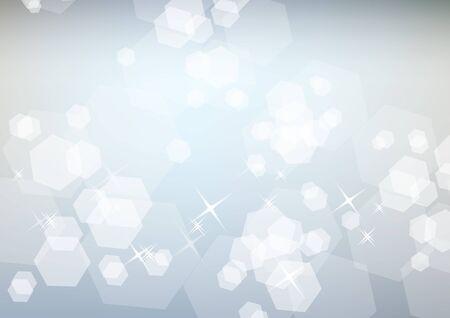 Light sparkling festive background Stock Vector - 8380208