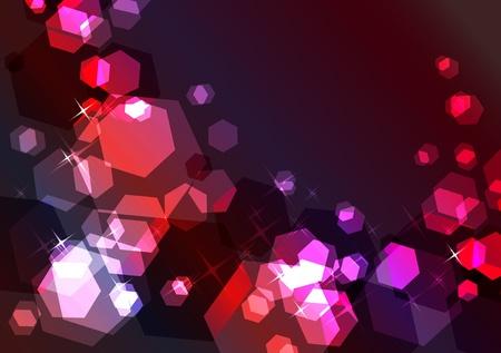 Bright sparkling festive background Stock Vector - 8380211