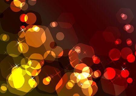 Bright sparkling festive background Stock Vector - 8380213