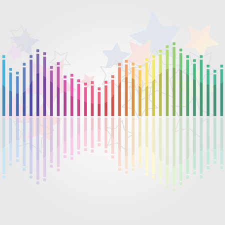 Abstract misic background Vector