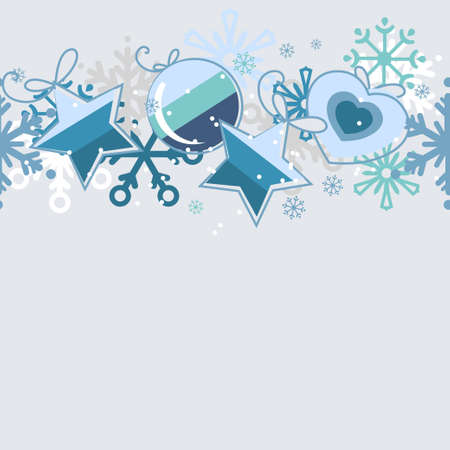 Seamless christmas pattern Stock Vector - 8458210
