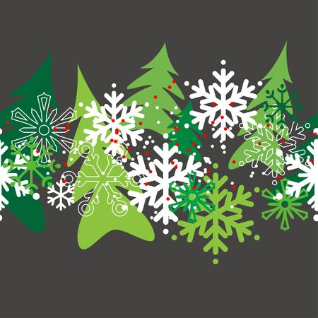 christmas pattern: Seamless christmas pattern
