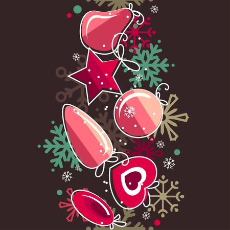 Seamless christmas pattern Stock Vector - 8474562