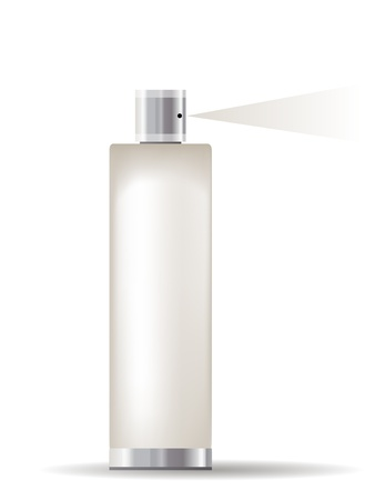 perfume spray: Cosmetic container