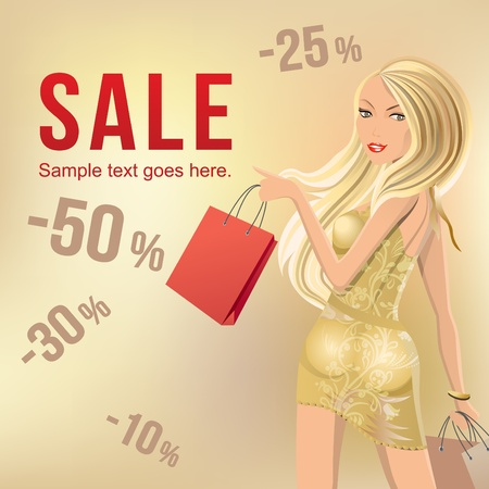 Sale banner Stock Vector - 8584447