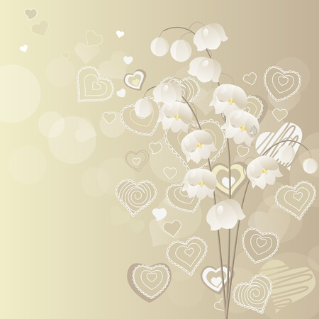 Lily of the valley Stock Vector - 8584465
