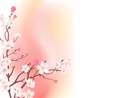 blossoming: Blossoming tree.