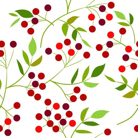 Seamless pattern with berries Stock Vector - 8614487