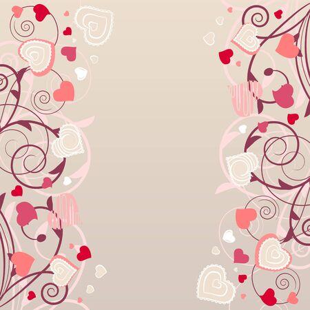fondos colores pastel: Patr�n con formas de contornos rojas