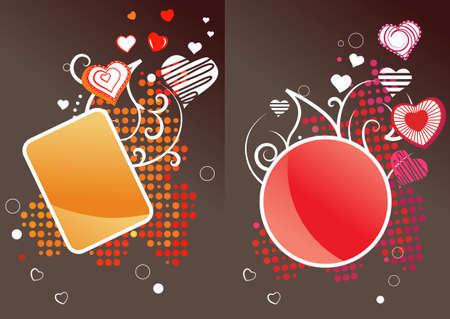 Two different labels Vector
