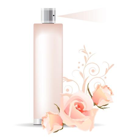 perfume spray: Rose perfume