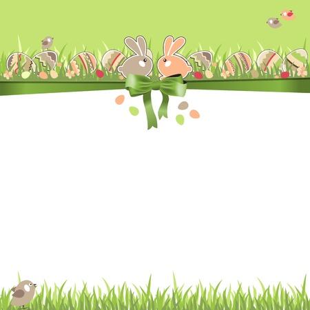 childish: Пасхальная открытка с яйцами