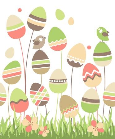 orthodox: Growing easter eggs