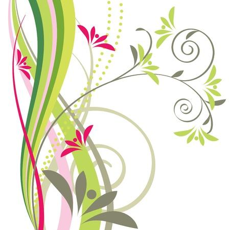 Floral design element Stock Vector - 9413930