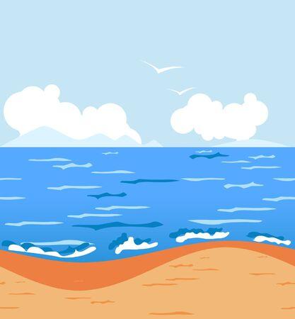 dune: Tropical beach. Seamless.