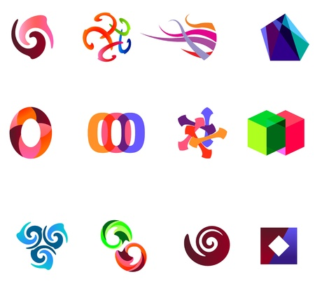 a 12: 12 colorful symbols