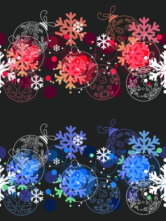 Beautiful seamless Christmas pattern. Stock Vector - 10689256