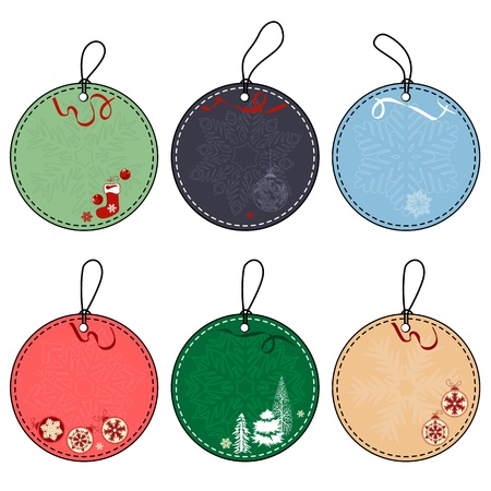 stylize: Set of Christmas Tags