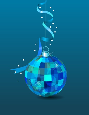 Hanging mirror ball Vector