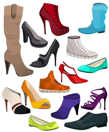 Women\'s fashion collection of shoes.