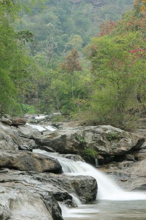 waterfall at Doi intanon (Chiang Mai province Thailand) photo