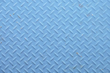 diamondplate: Background of metal plate blue colour