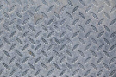 diamondplate: Background of metal plate gray colour