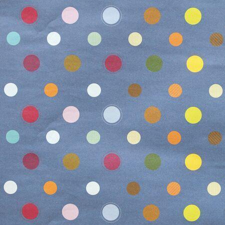 textured paper: Paper textured polka dots pattern.