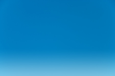 open spaces: Clear blue sky for background. Stock Photo