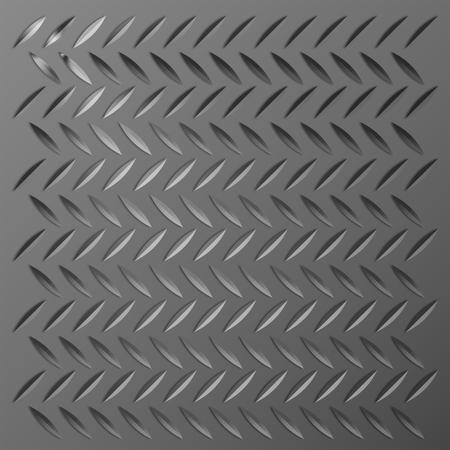 diamond plate: Metal diamond plate as background.
