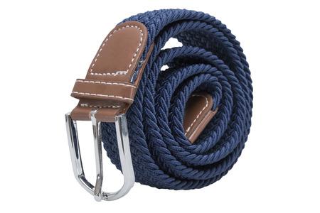 belt isolated on white background. Stock Photo