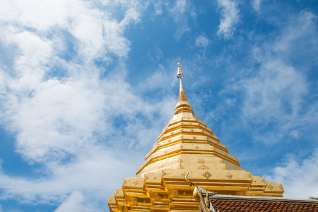 Wat Phra That Doi Suthep at Chiang Mai, Thailand. Stockfoto