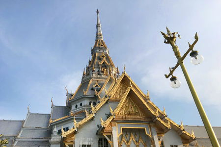 Wat Sothon Wararam Worawihan, The Buddhist Temple at Chachoengsao in Thailand.