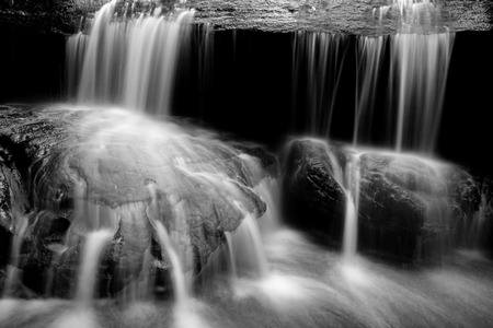 close-up of a waterfalls Stockfoto - 119500717