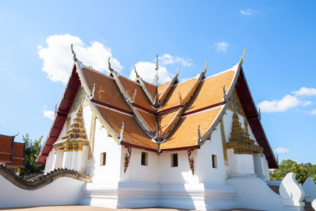 Wat Phumin is a famous temple in Nan province, Thailand Stockfoto - 119504874