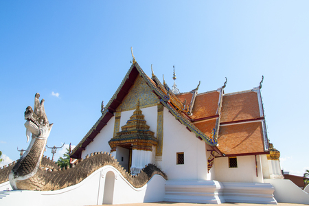Wat Phumin is a famous temple in Nan province, Thailand Stockfoto - 119504956